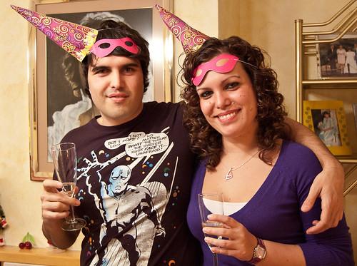 123/365 El equipo de Fotonazos celebrando el nuevo año