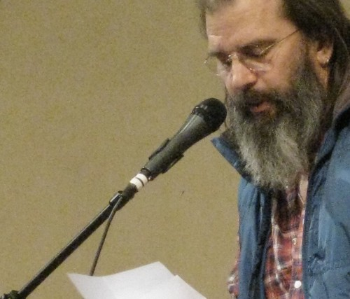 Steve Earle reads from his novel in progress
