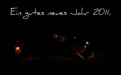Ein gutes neues Jahr 2011