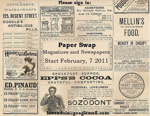 Paper Swap Febr 2011