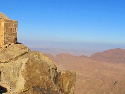 Top of Mt Sinai Egypt