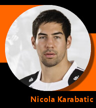 Pictures of Nicola Karabatic
