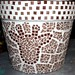 African Inspiration Mosaic Flower Pot