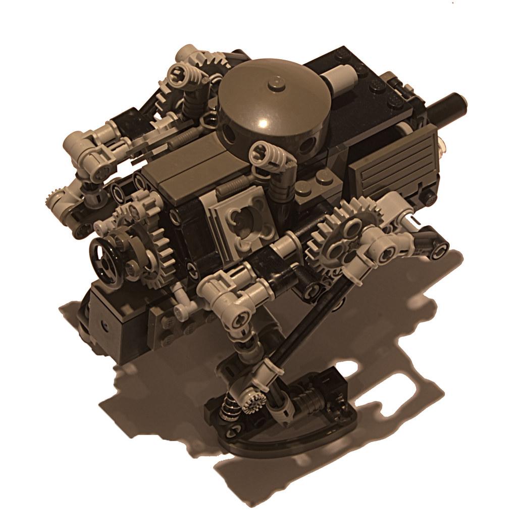"""Chicken"" Diesel Combat Walker Mk. XII (top)"
