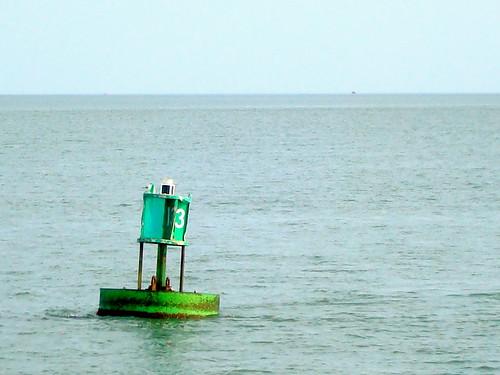 It's a buoy!