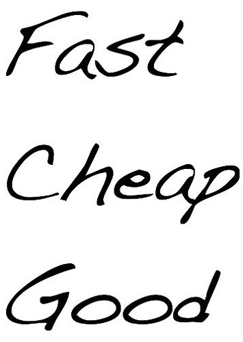 Fast Cheap Good