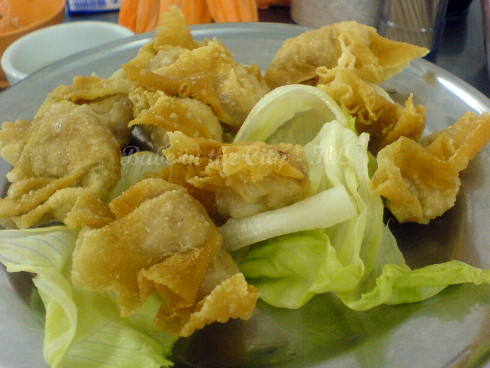 Deep fried wantan