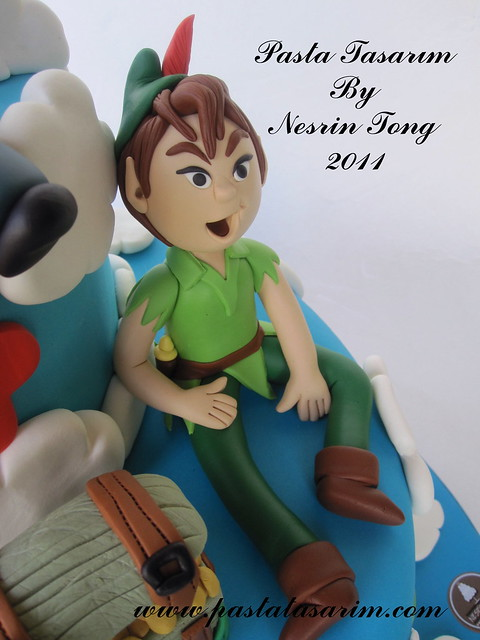 PETER PAN CAKE - KEREM BIRTHDAY