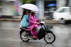 Mandalay_1455p (Stefan Munder) Tags: street rain umbrella motorcycle myanmar mandalay