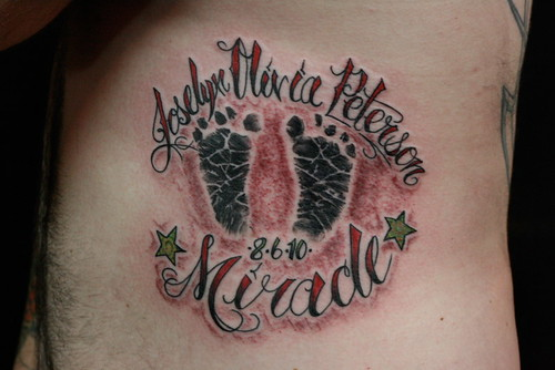 Newest photo →; baby feet tattoo IMG_7959