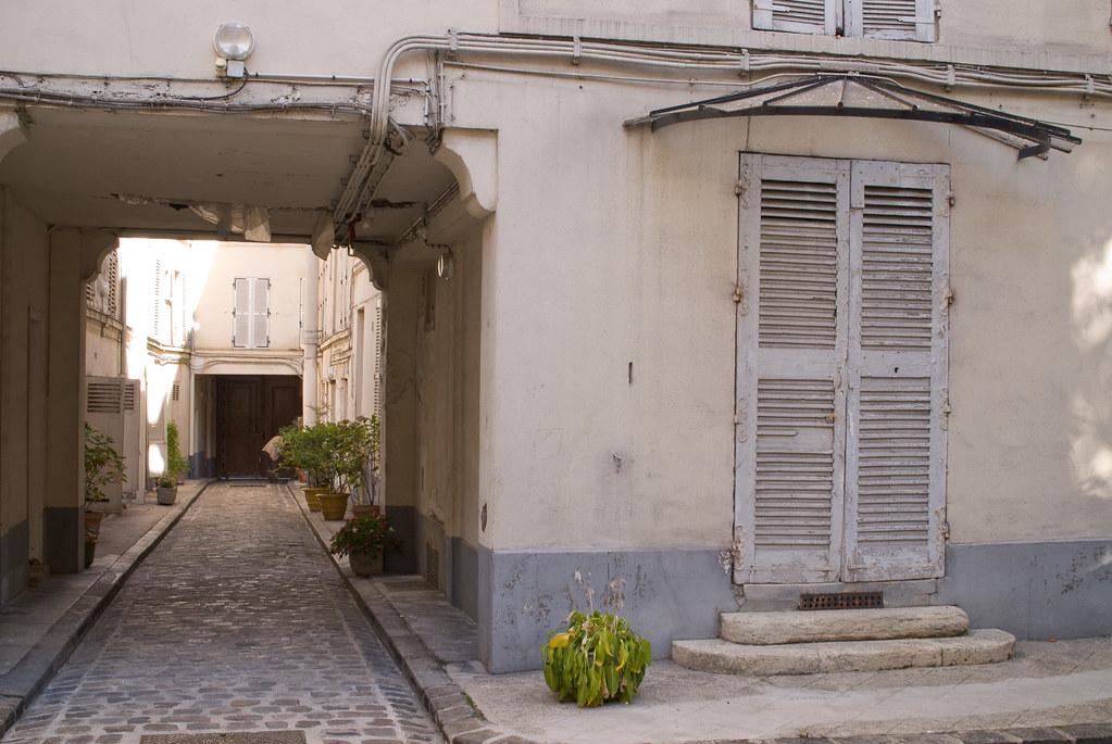 Cour du 283 rue de Vaugirard