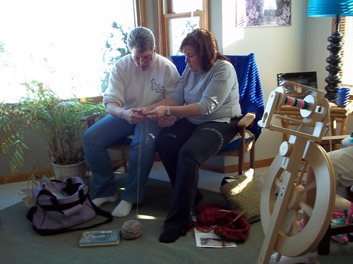 A new knitter is born