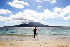 Week 2: Joy (bmurphy502) Tags: sky man beach clouds alone joy 7d week2 challenge stkitts cockleshellbay wpc2011