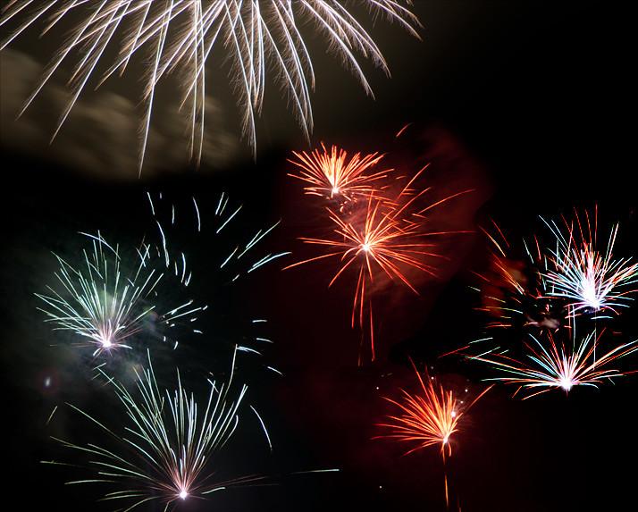 vuurwerk 'gewoontjes' bokrijk winteravonden 2010