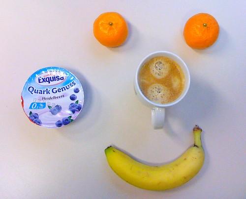 Banane, Quark Genuss & Clementinen
