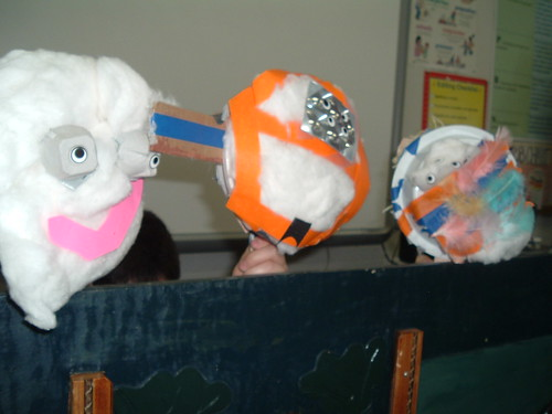 Student Puppets