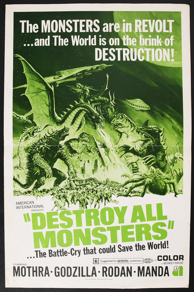 Destroy All Monsters (Toho, 1968) 3