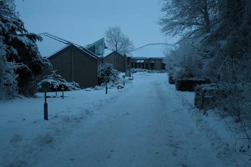 Wikinger Museum Haithabu mit Schnee WHH 19-12-2010