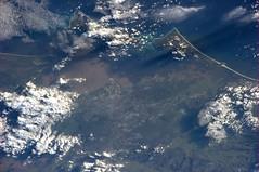 Brisbane, Australia (astro_paolo) Tags: australia brisbane nasa floods iss esa moretonbay internationalspacestation earthfromspace europeanspaceagency expedition26 magisstra