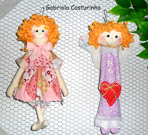## fofitos ## by Gabriola costurinha/rose