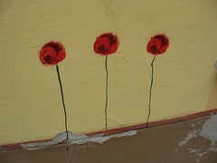 street art flowers