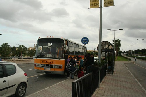 Photo of the Bus at Malta International Airport