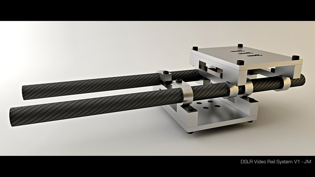 DSLR Film rig - 15mm carbon rail system - Teaser #1