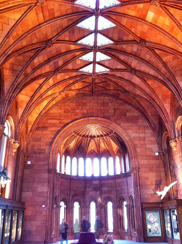 Interior of the Smithsonian Castle
