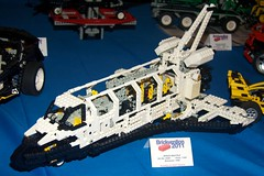 LEGO Technic Space Shuttle (tdm911) Tags: lego australia melbourne technic spaceshuttle moc 2011 brickvention brickvention2011