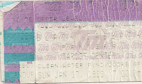01/17/99 Black Sabbath/Pantera @ Minneapolis, MN (Ticket)