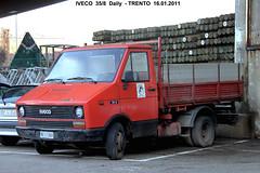 IVECO  35/8 (marvin 345) Tags: old italy classic truck vintage italia voiture historic camion trento trentino iveco vecchio epoca storico autocarro iveco358
