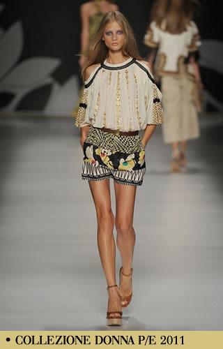 Etro, vestidos y pantalones cortos para mujer colección de primavera-verano, Etro moda para mujer