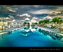 Gansevoort Miami Beach Hotel (EXPLORE) (albert18_mh) Tags: trip travel beach pool hotel miami south resort experience luxury beachfront gansevoort infinityedge borderfx