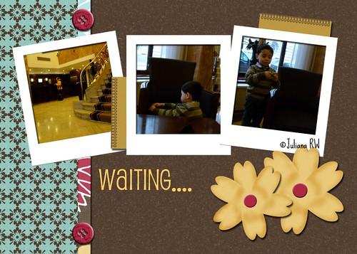 Waiting at the lobby