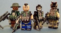 "Task Force 141 - ""Doom on you Mr. Tango!"" (The Knight (KJ)) Tags: modern army toys force lego military special armor minifig 141 forces task warfare taskforce tactical brickarms"