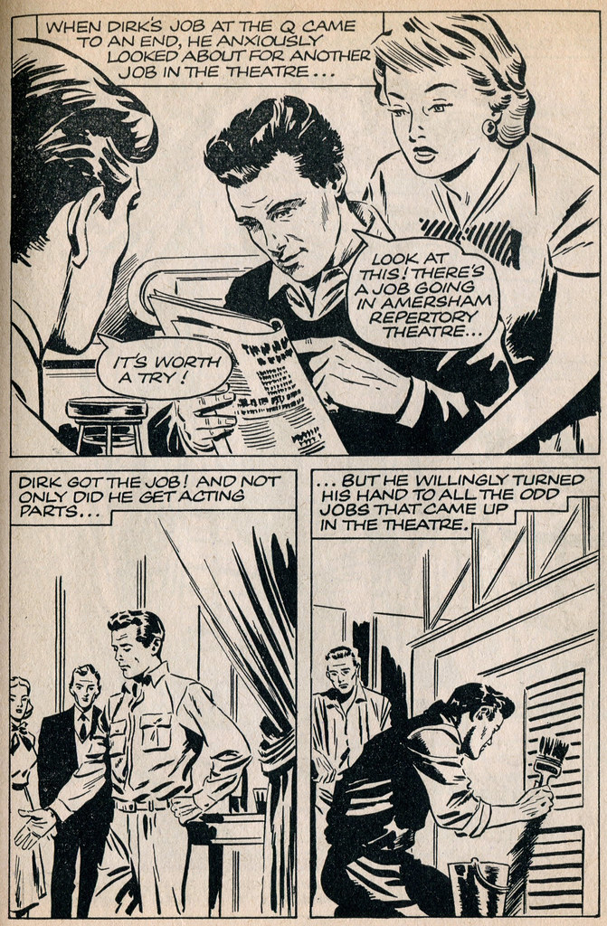 Dirk Bogarde comic 4