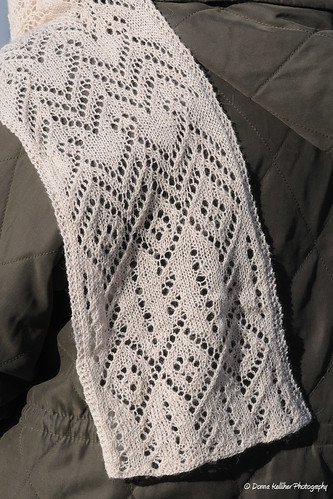 Crochet Patterns Lace Weight Yarn : Aviator Scarf (Lace Weight) PDF at FiberWild.com - Knitting Yarns ...
