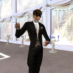SF Designs Silver Tie and Tails (Boudica Destiny) Tags: mask ballroom bryce pulse tux equinox sfdesigns inworldz designsbyrahja