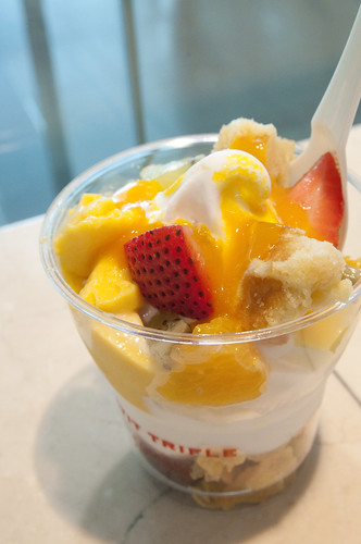 Fruit Mango Pudding Trifle, Patisserie Kihachi, Haneda Airport