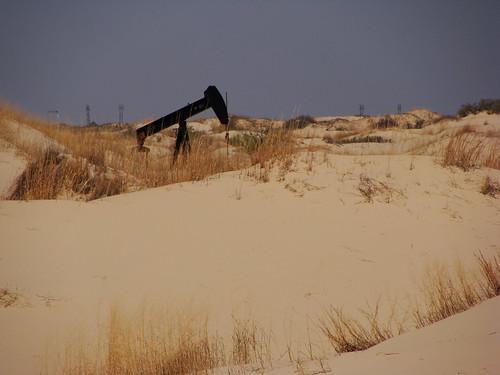 Sand Hills - Oil Rig