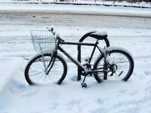 DAY 574: SNOW RIDE