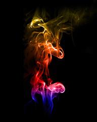 Colorful (BHagen) Tags: color colors photoshop studio nikon pattern patterns smoke flash freeze d90