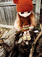 ADAD 22/365: Klara in Woollyrockers