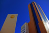 Two Towers (albireo 2006) Tags: blue wallpaper sky building architecture wow mediterranean background malta stjulians paceville justpentax obliquemind obliquamente pentaxart