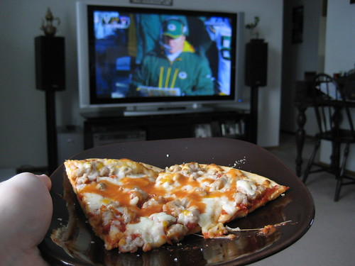 pizza and packers