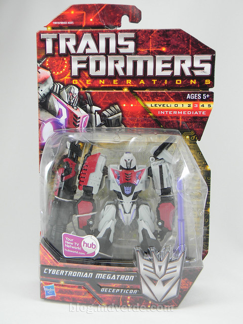 Transformer Cybertronian Megatron Generations Deluxe - caja