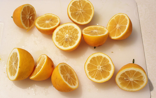 orange lemons