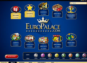 Europalace Casino Lobby
