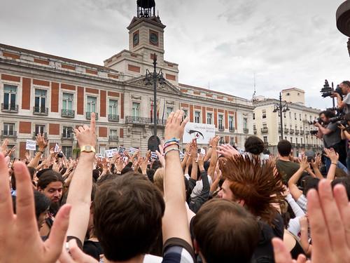 #AcampadaSol #SpanishRevolution