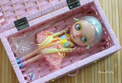 have a wonderful trip <3 (anniedollzcustom dollz hut <3) Tags: alpaca doll ooak blythe custom reroot anniedollz